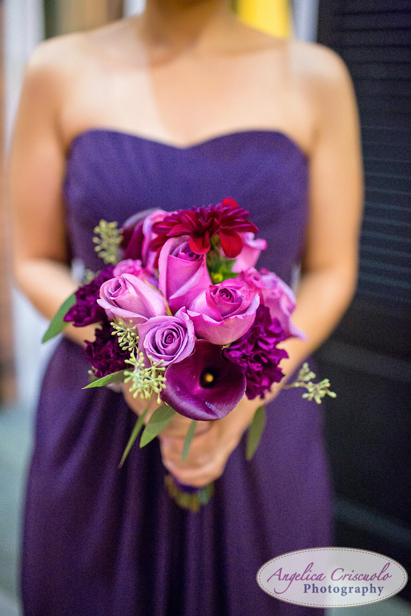 Simira NY Floral Design bridesmaid bouquet NY Wedding Photographer