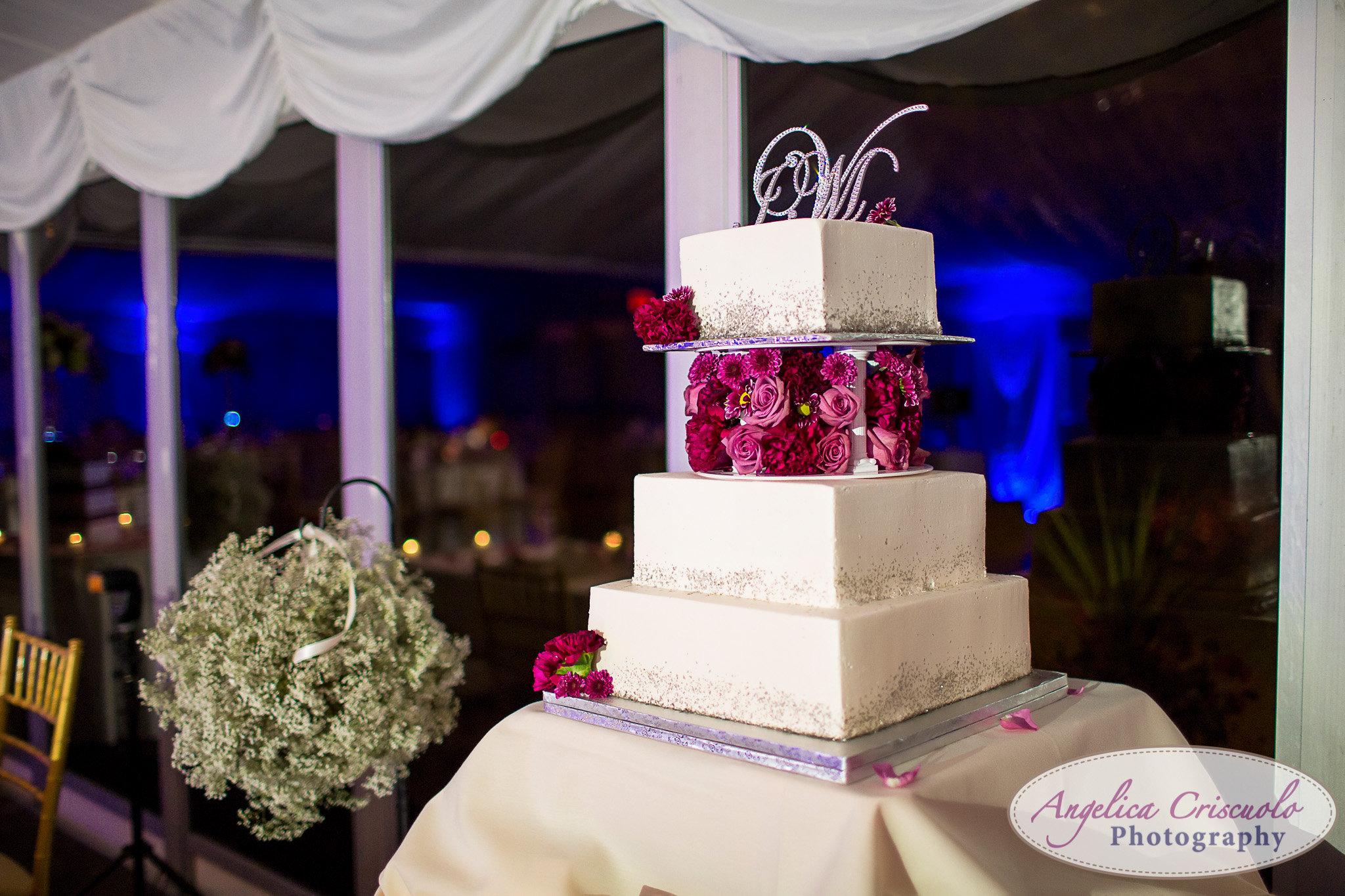 Conti's Pastry Shop wedding cake New York Wedding photographer pelham bay split Rock Golf Courses
