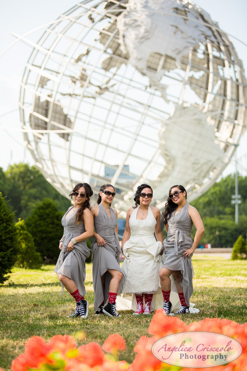 New_York_Wedding_Photographer_Queens_World's_Fair_Globe_Bridal_Party005