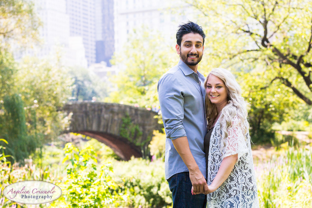 New York Wedding Photographer surprise proposal