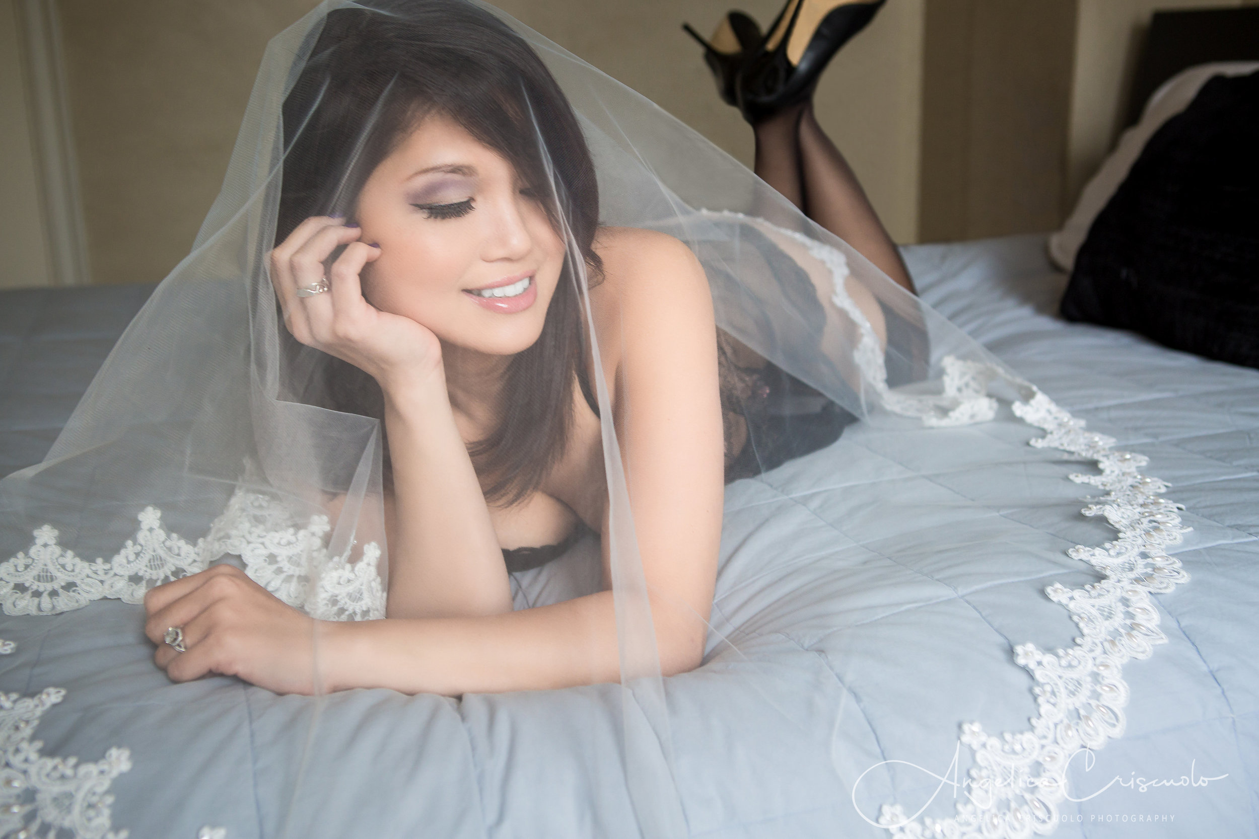 Bride boudoir photography NYC