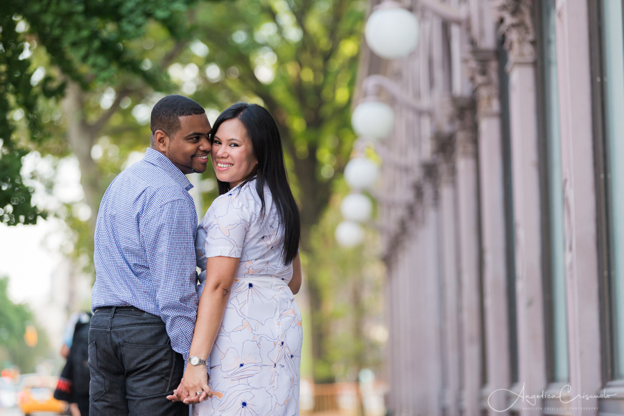 NYC pre wedding photos engagement ideas