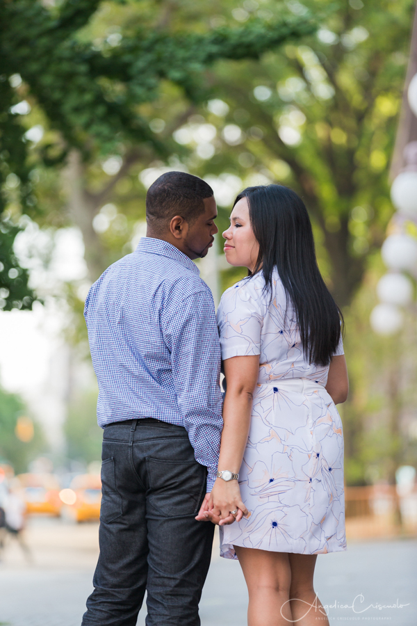 NYC pre wedding photo engagement ideas