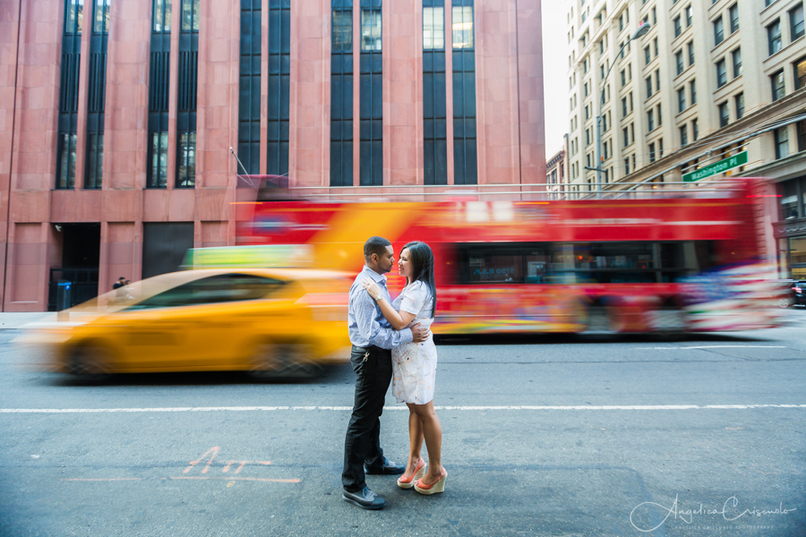 New York NYC pre wedding engagement photo ideas