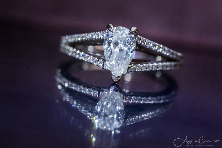New York NYC pre wedding engagement photo ring ideas