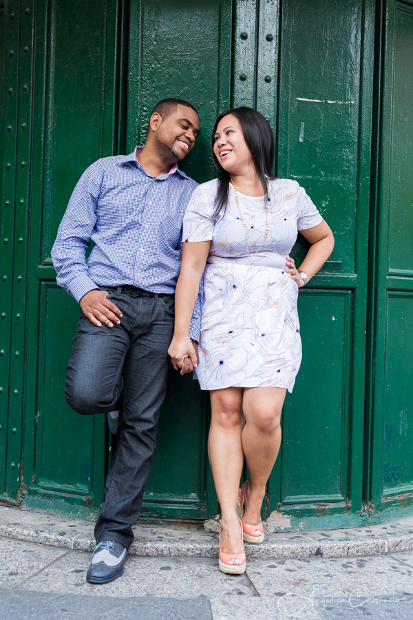 NYC Union Square pre wedding photos engagement ideas