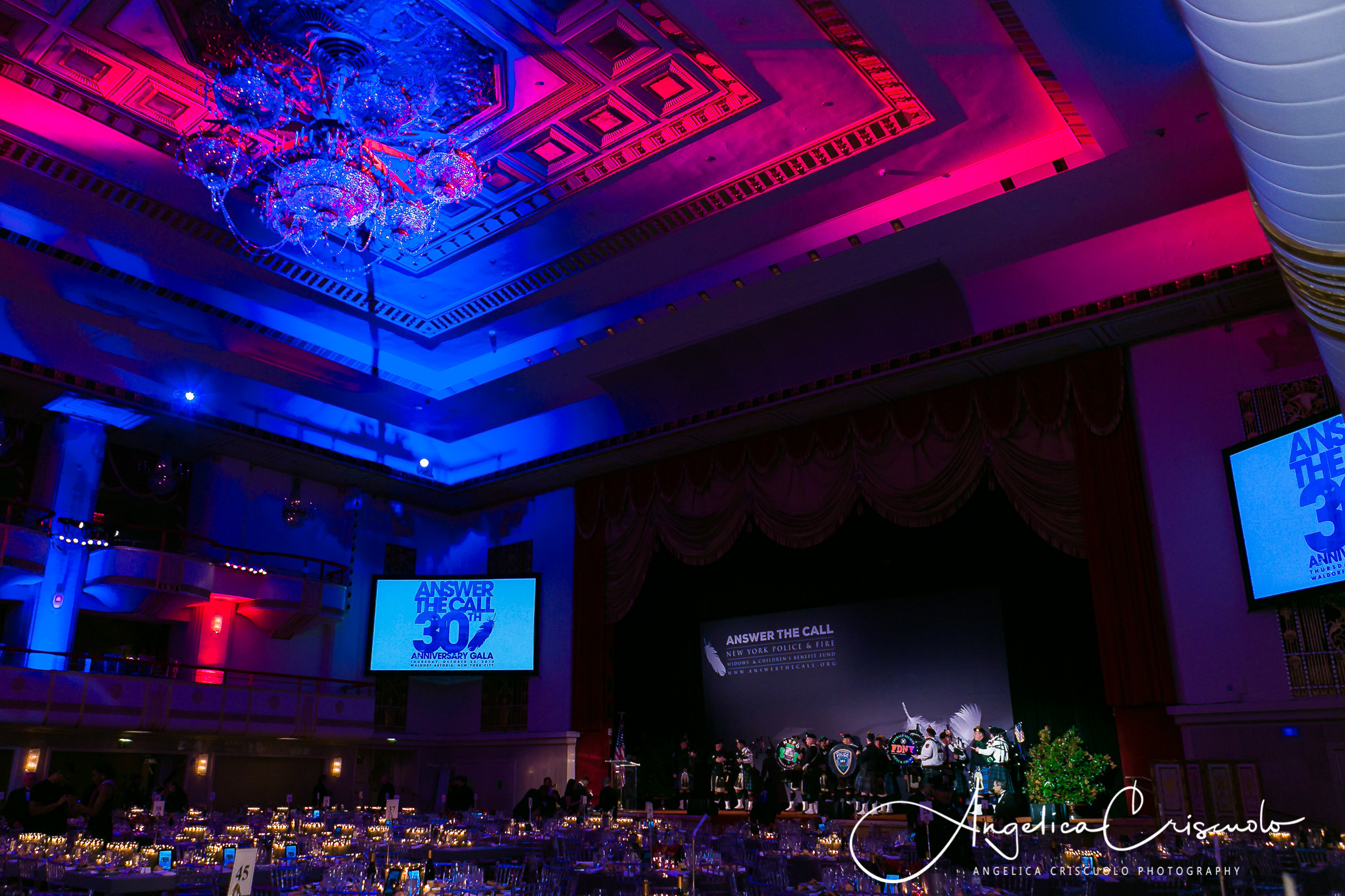Waldorf Astoria Answer The Call Reception Gala Event