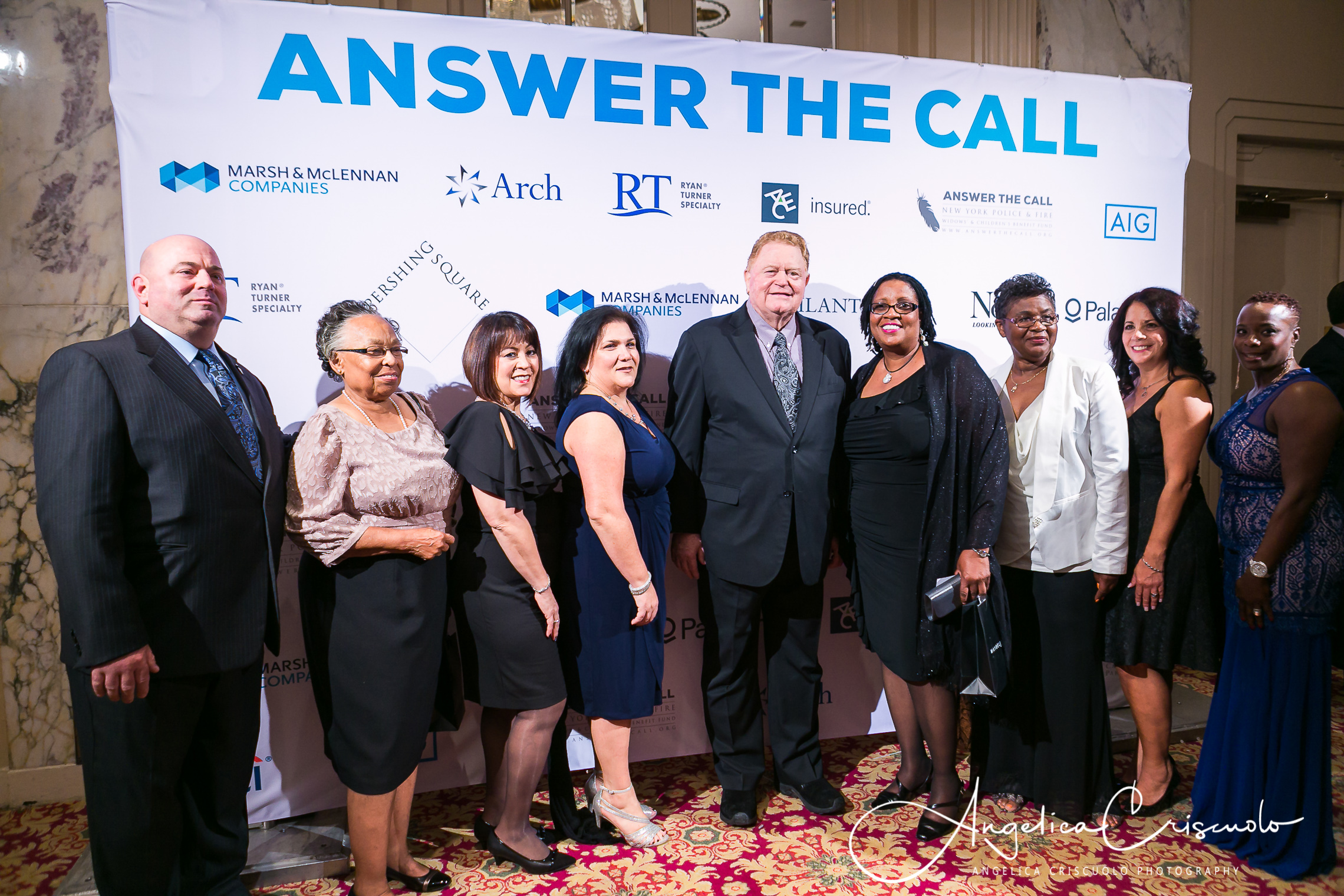 Waldorf Astoria Answer The Call Reception with Rusty Staub Gala Event