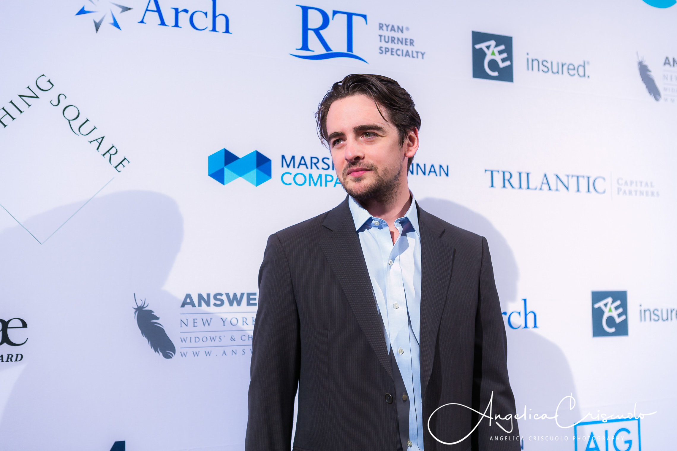 Vincent Piazza Waldorf Astoria Answer The Call Reception Gala Event