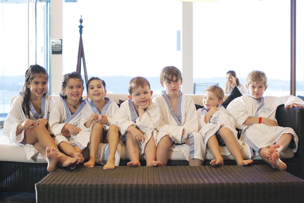 Yacht Kids på spa