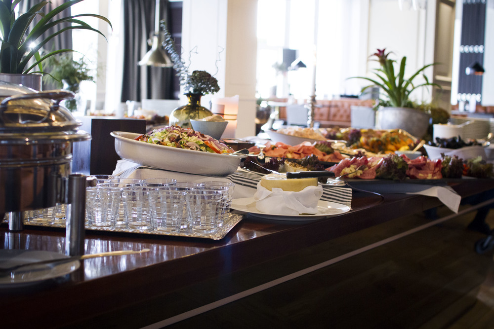 Brunch på nyårsdagen i Restaurang Captains Table