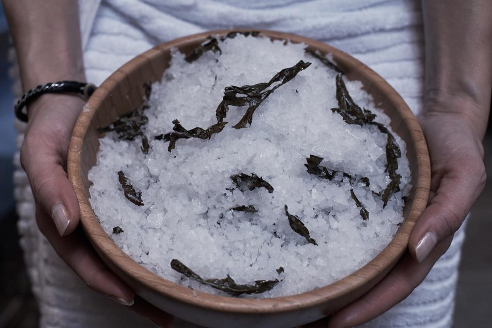 Sauna Chill basturitual på Stenungsbadens spa