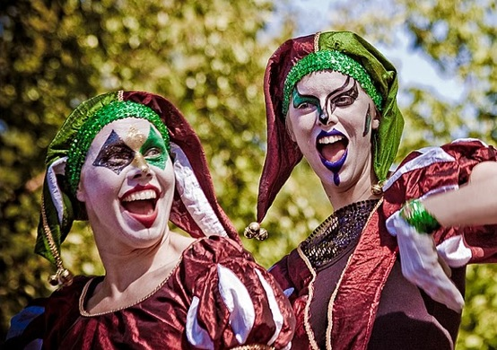 A Bunda karnevalsfest på Stenungsbaden