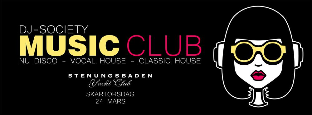 Notalgikväll med Music Club i Lounge på Skärtorsdag