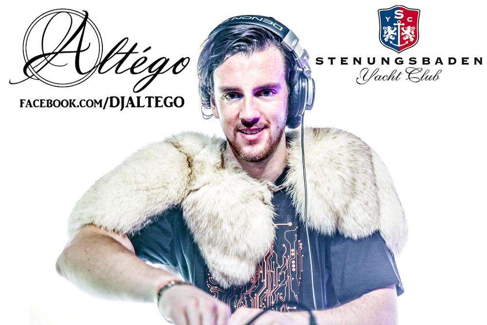 DJ Altégo i Lounge på hotell Stenungsbaden