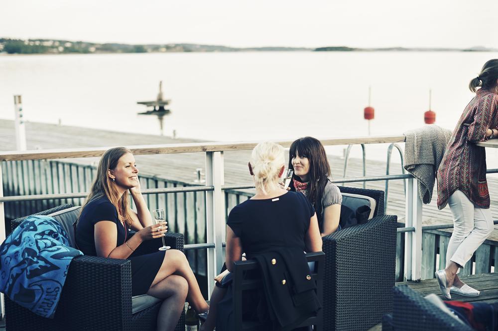 Partypatrullen på bryggan Restaurang Kookaburra på hotell Stenungsbaden