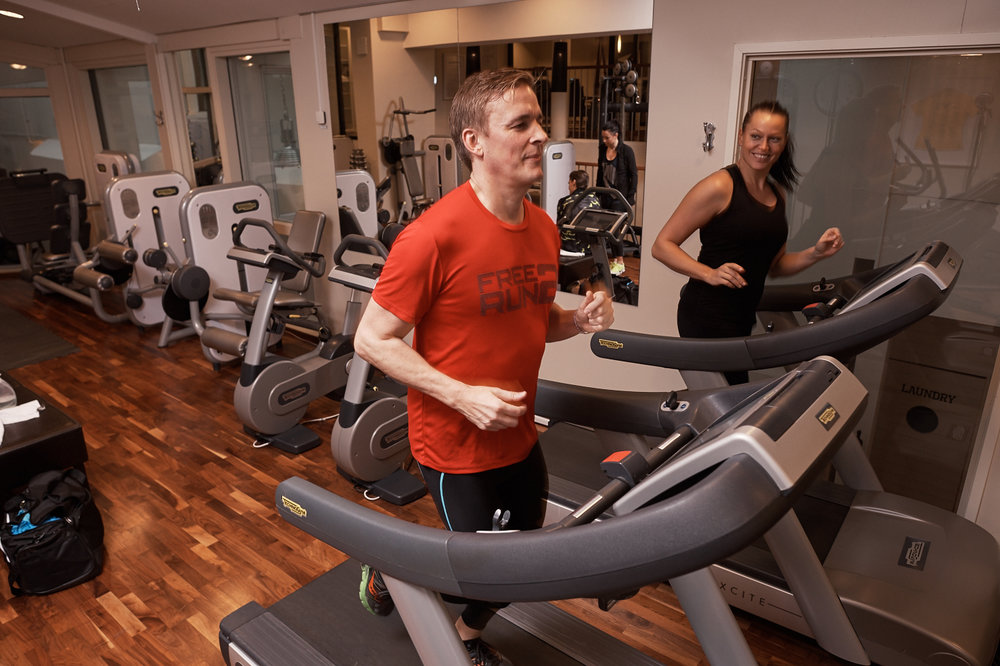 Träning på gym och gruppträningspass på Bluewater