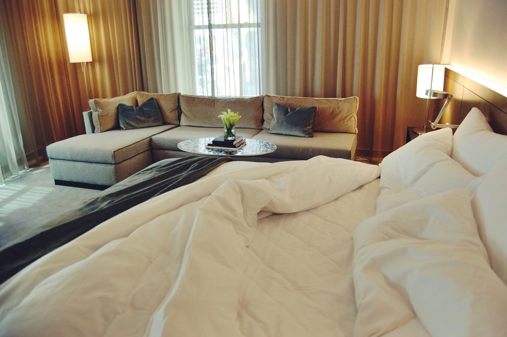 The Knickerbocker Hotel // Linens by Sferra, Pillows by Ploh