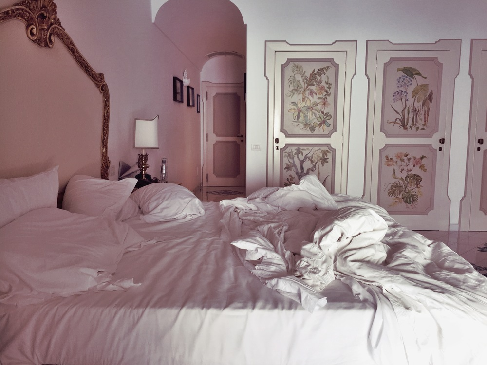Il San Pietro di Positano // I am a messy, athletic sleeper.