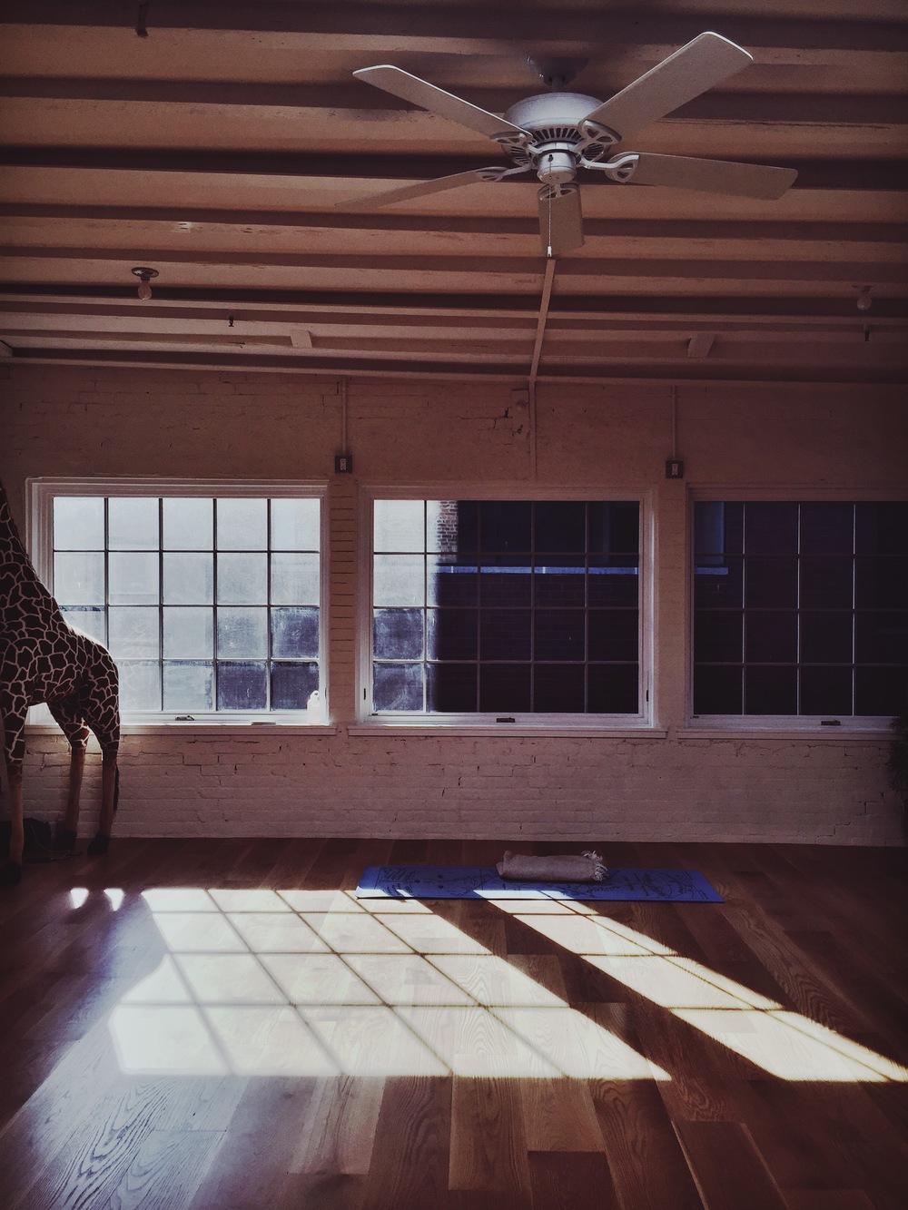 Sky Ting Yoga // 55 Chrystie Street, NYC