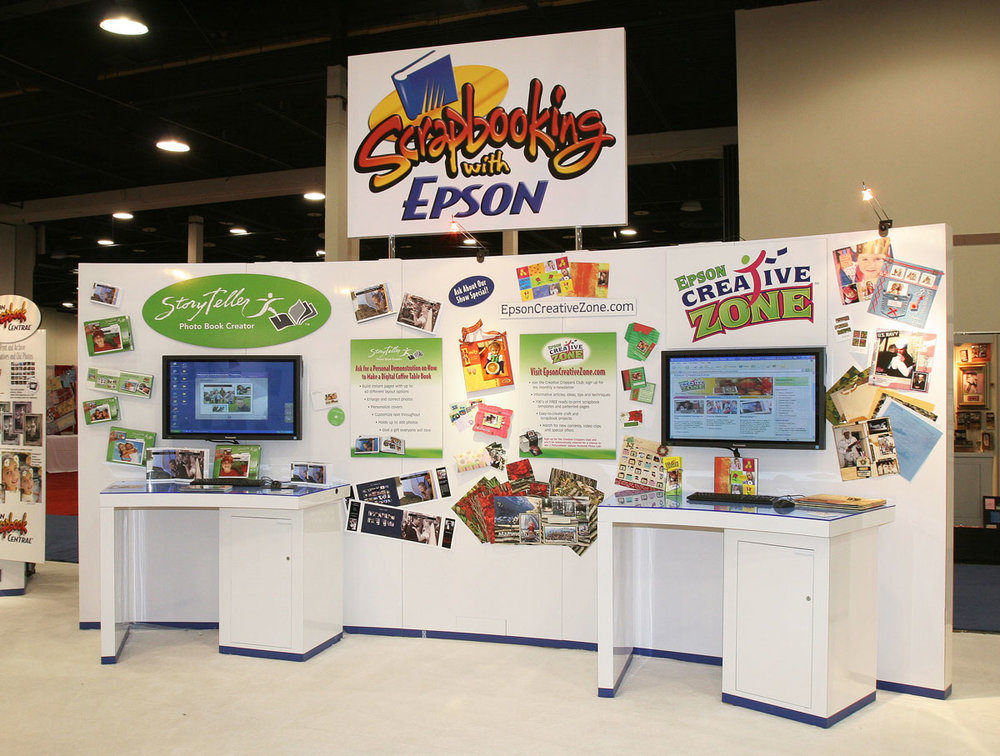 Epson Trade Show Booth Signage