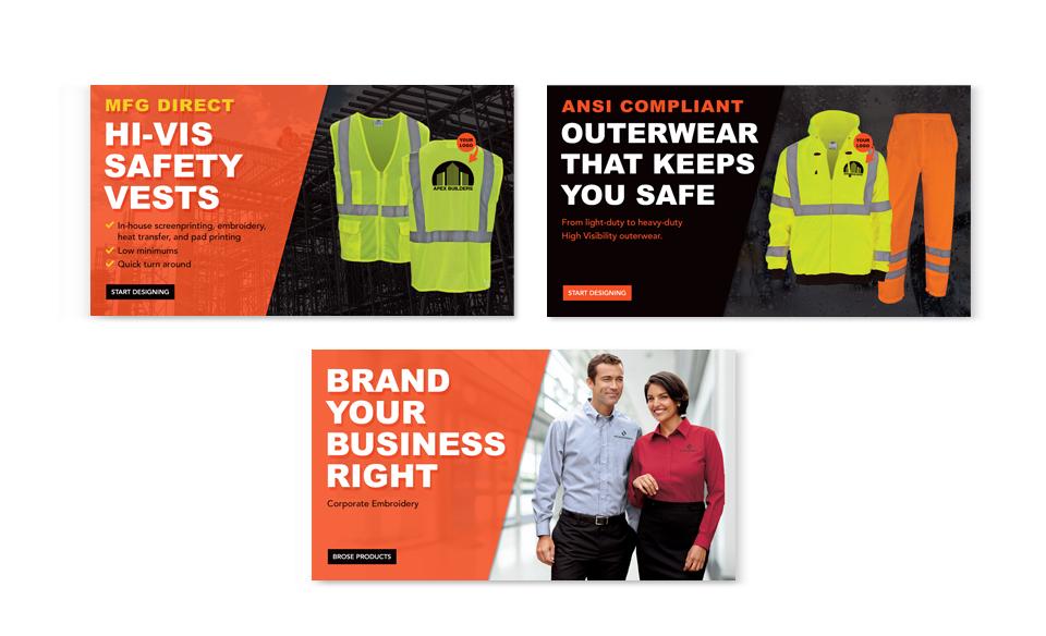 R&R Industries Banner Ads