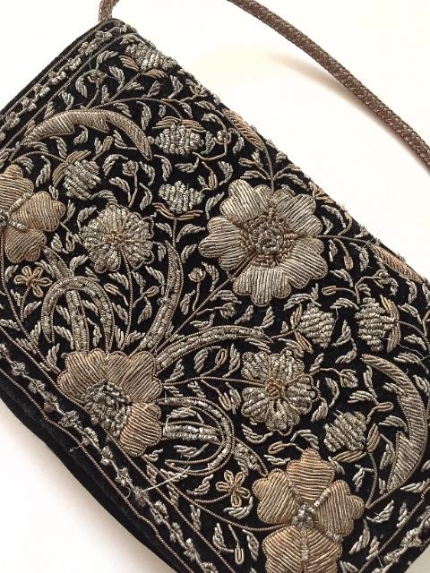Zardozi Metal Embroidered Bag