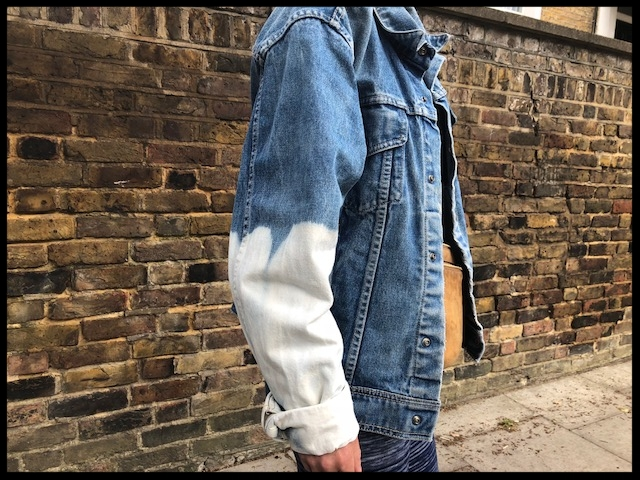Denim Jacket - Hand-made (East London Style).