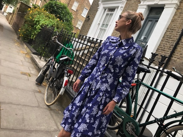 Dress - Vintage M&S from local charity shop, Boots - Marc Jacobs