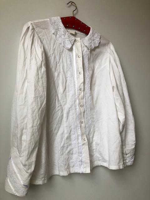 1. Cotton blouse.