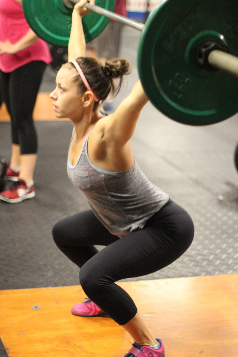 And one from her last wod in September 2015.