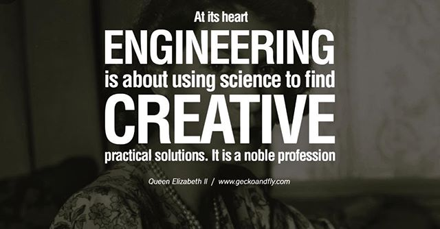 Happy Monday!! Quote of the day!! . . #engineering #engineers #creative #soultions