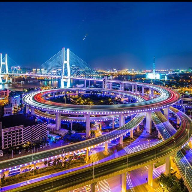 "Happy Wednesday!!!🤗 ""The engineer has been, and is, a maker of history."" — James Kip Finch. . . #engineering #engineers #bridge #beautiful #roads #civilengineering #street #transportation #design"