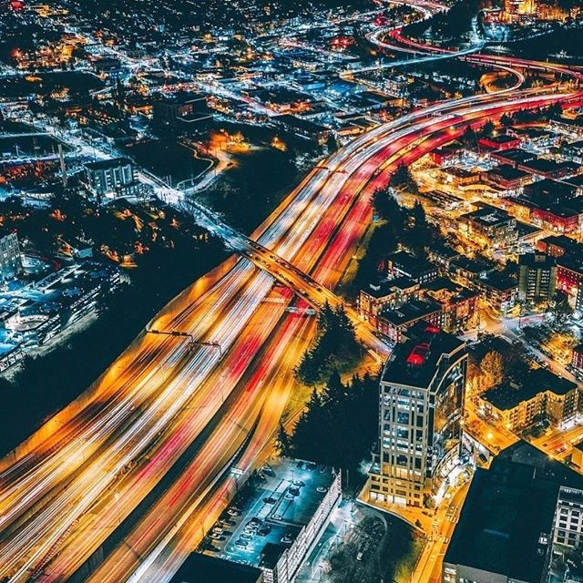 """Happy Monday!!!🤗""""Engineering is a form of art and has filled the world with things of obvious visual beauty but also with subtle forms """"~Louis Brown . . . #transportation #engineering #bridge #lights #california #civilengineering #street #roads"""