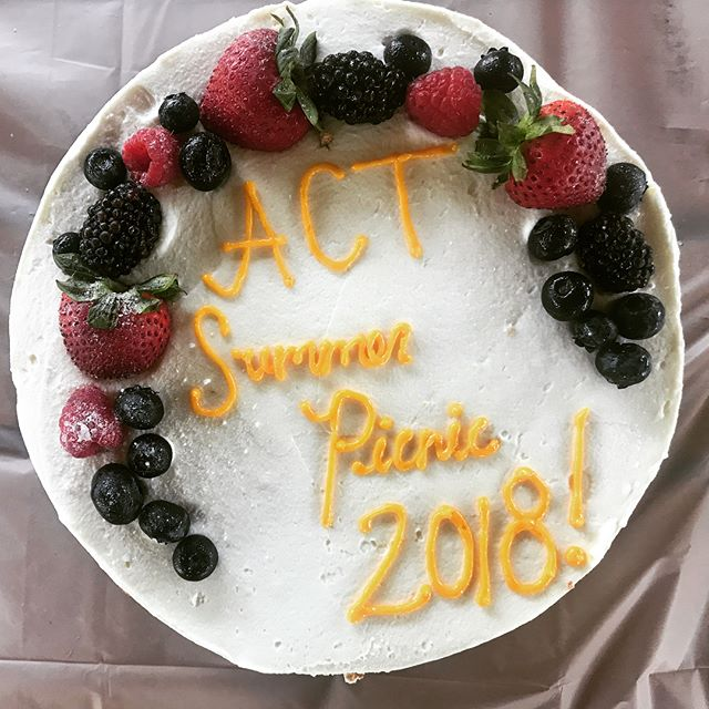 Happy Tuesday!!! We've kicked off our summer celebrations with the ACT Annual Summer Picnic!☀️ . . #summer #picnic #2018 #ACTlife #fun #foodtruck #delicious #food #games #nowork #goodvibes #prizes #kids #families #sunny