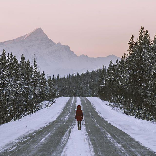 Make your own way. 📷 via @helloemilie⠀ .⠀ .⠀ .⠀ .⠀ .⠀ .⠀ .⠀ .⠀ #winterdreaming #travel #roads #roadtrip #transportation #tinyatlas #vacation #november