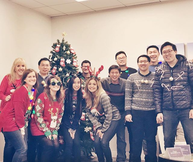 Feeling festive around the office! Happy Friday! . . . . . #ACTlife #engineers #civilengineers #transportation #uglychristmassweater #festive #officelife #casualfriday