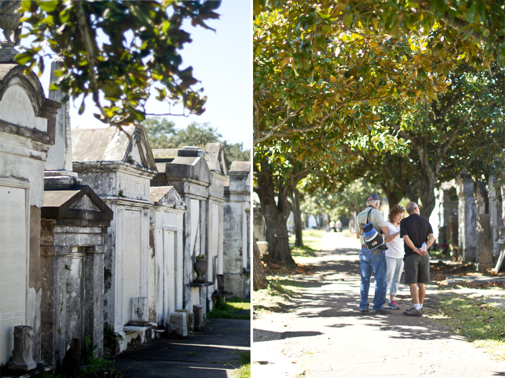Lafayette Cemetery No. 1 in the Garden District.