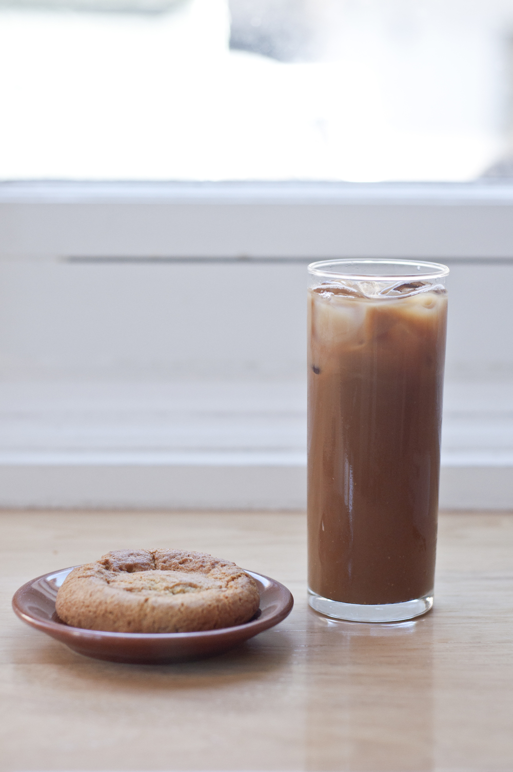 Try their snickerdoodle cookie with your coffee.