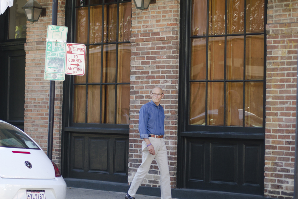 "James Carville (AKA ""The Ragin' Cajun"") sighting in the French Quarter!"