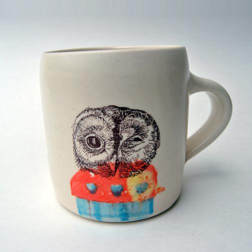 Winking Owl - Brika
