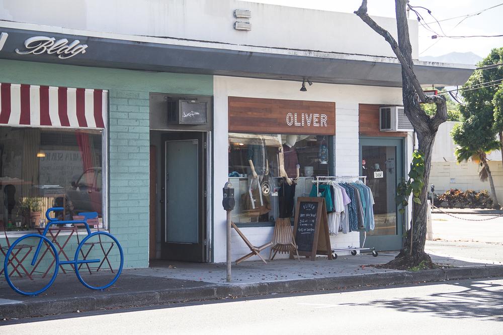 oliver men's shop, kailua | desertfroth.com