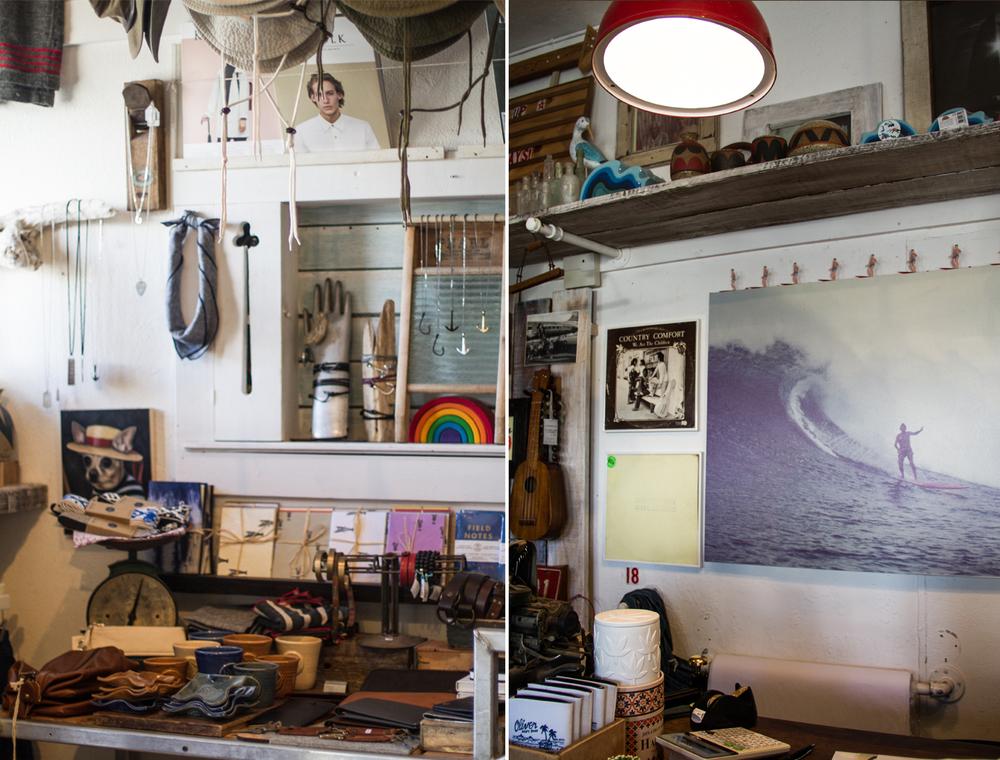 Inside Oliver Men's Shop.