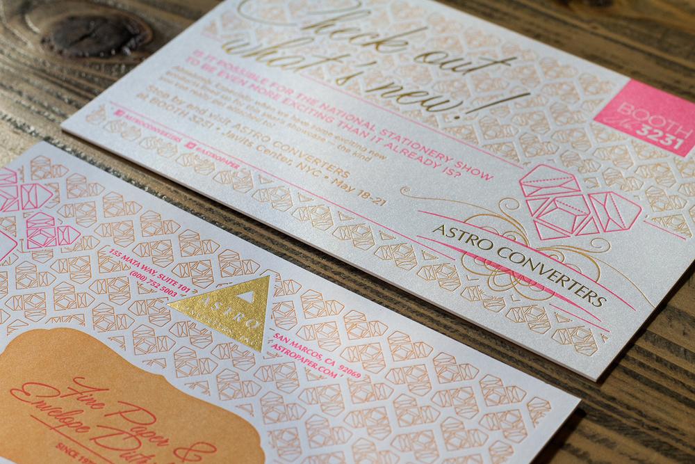 somersault letterpress, las vegas  | desertfroth.com