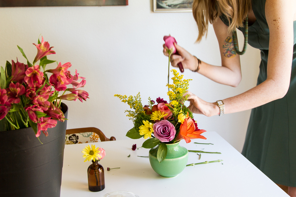 DIY Floral Arrangement Tips from Opal Floral | desertfroth.com