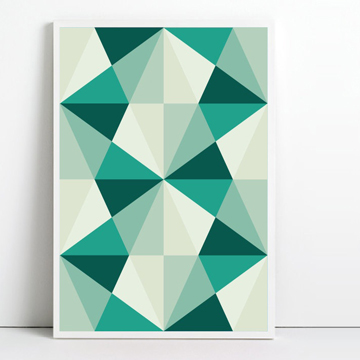 Geometric Art by Angela Ferrara