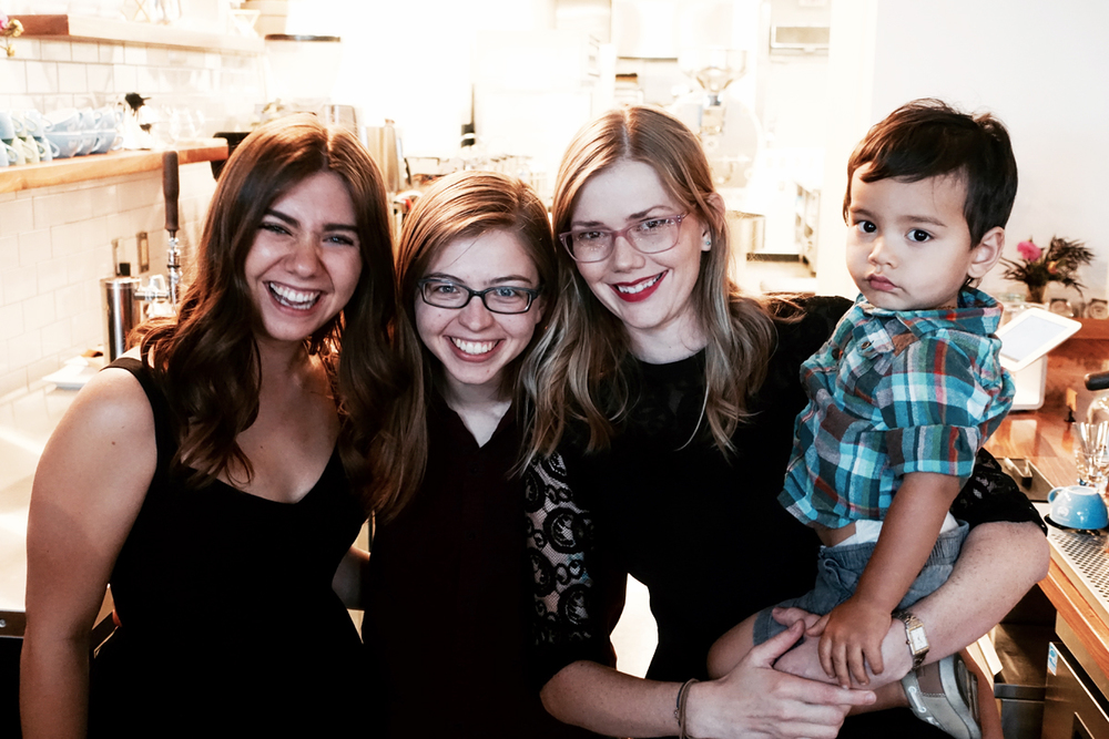 The lovely team at Mothership Coffee Roasters  * All photos above taken by Mikey M. Thanks, buddy!