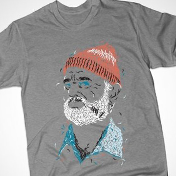 Busted Tees - Zissou of Fish