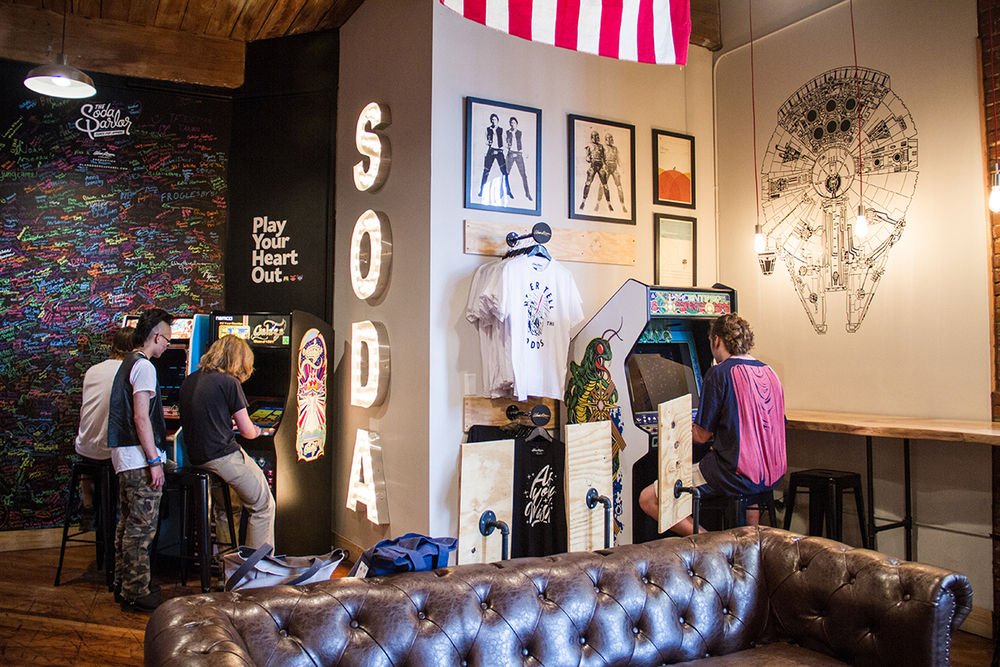 The Soda Parlor at Marathon Village