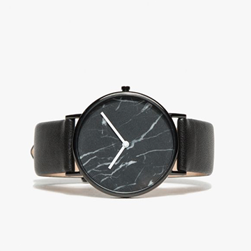 The Horse Black Marble Watch